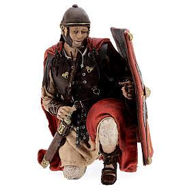 Soldats romains qui jouent aux dés 18 cm crèche Tripi s4