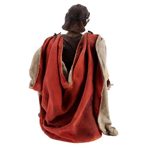 Soldats romains qui jouent aux dés 18 cm crèche Tripi 11