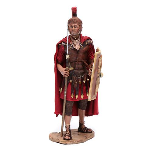 Soldati romani che giocano ai dadi 18 cm presepe Tripi 6