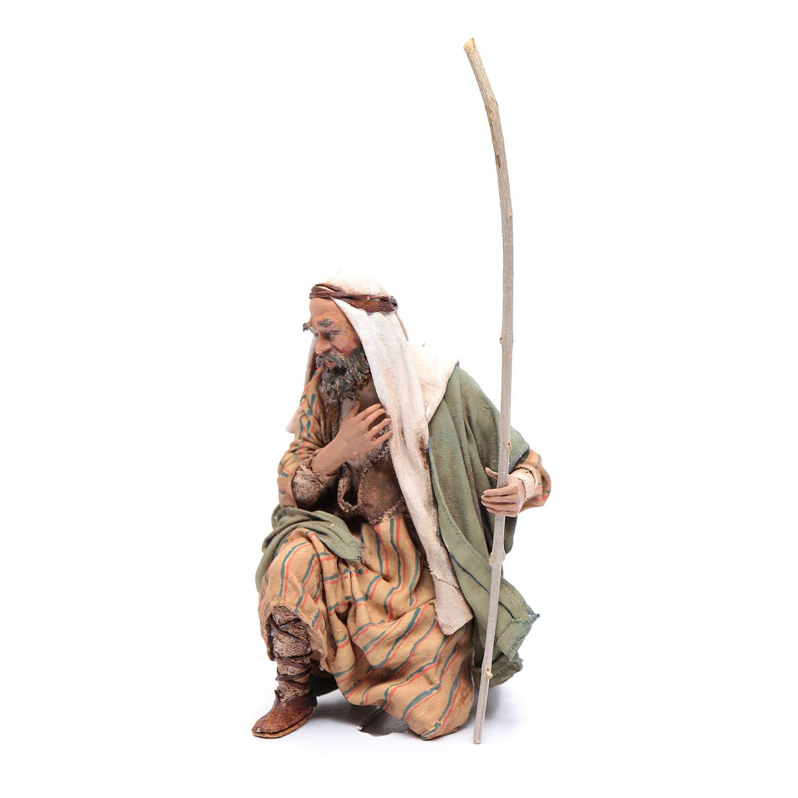 San José de rodillas 18 cm Angela Tripi 4