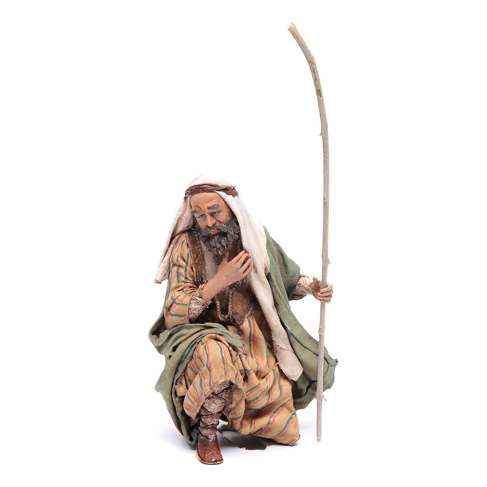 San Giuseppe in ginocchio 18 cm Angela Tripi 4