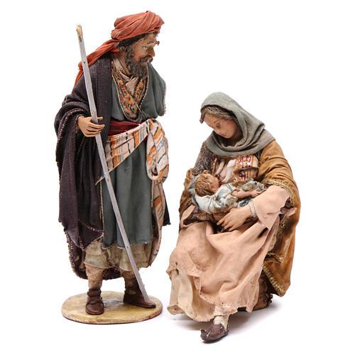 Natività Angela Tripi 18 cm terracotta 1