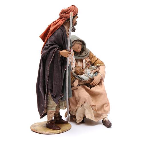 Natività Angela Tripi 18 cm terracotta 4