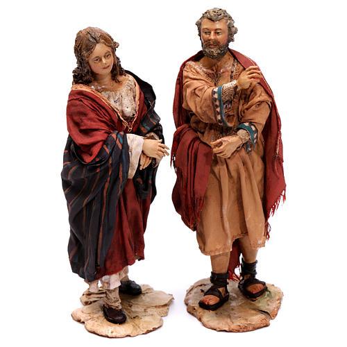 Scena del censimento statue Angela Tripi 13 cm 2