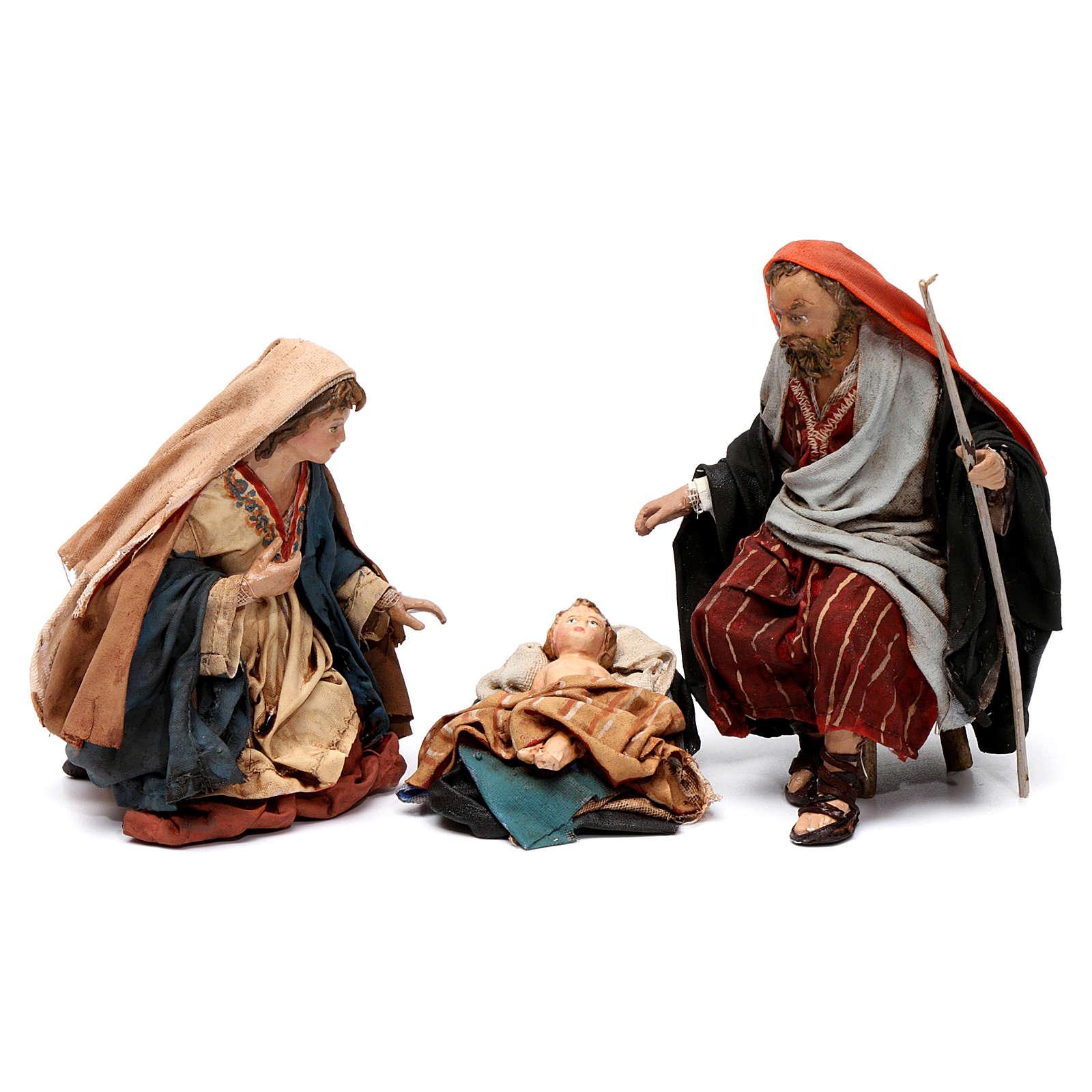 Holy Family Angela Tripi figurines 13 cm 4