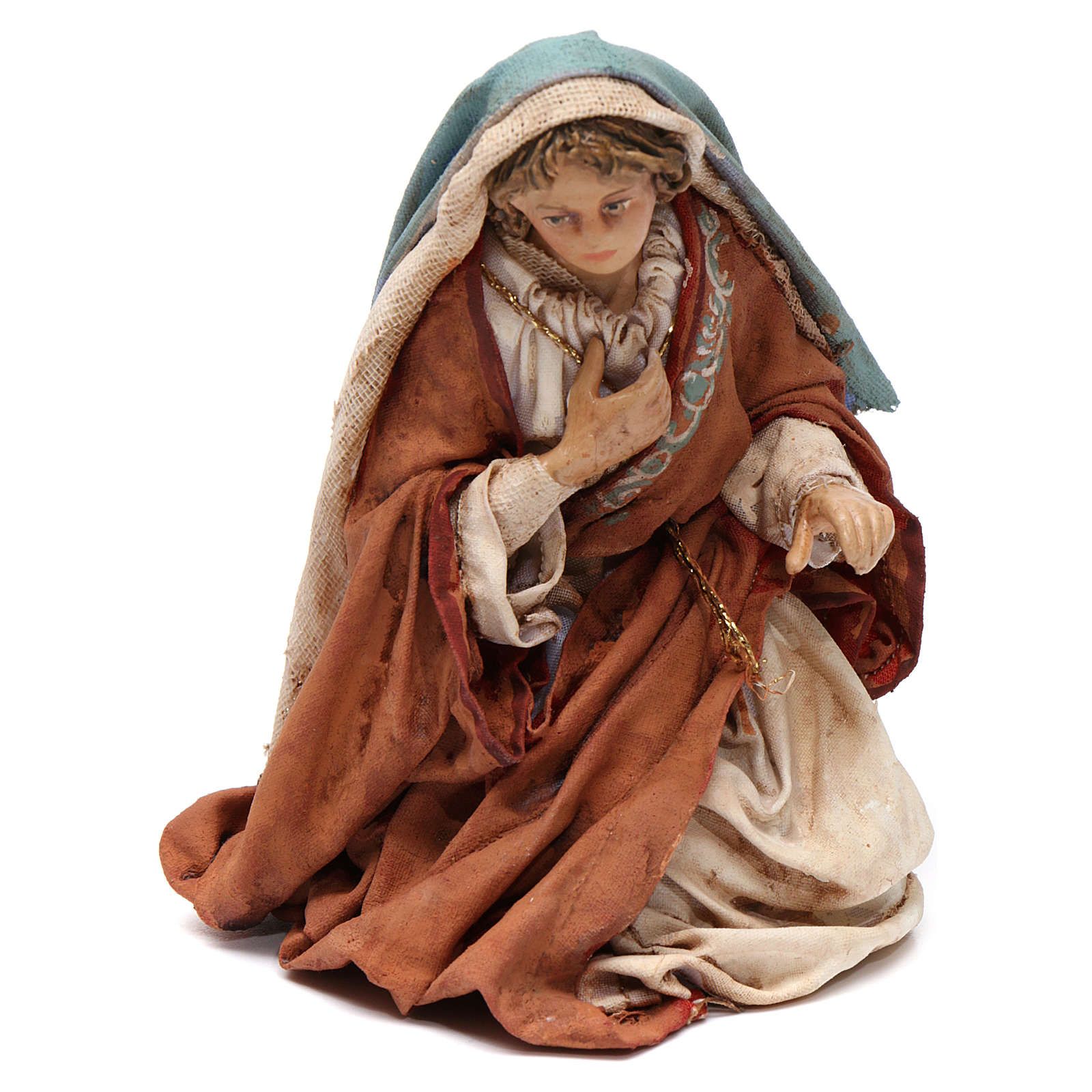 Natività 13 cm in Terracotta 3 pz Angela Tripi 4