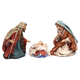 Natività 13 cm in Terracotta 3 pz Angela Tripi s1