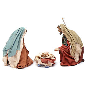 Natività 13 cm in Terracotta 3 pz Angela Tripi s5