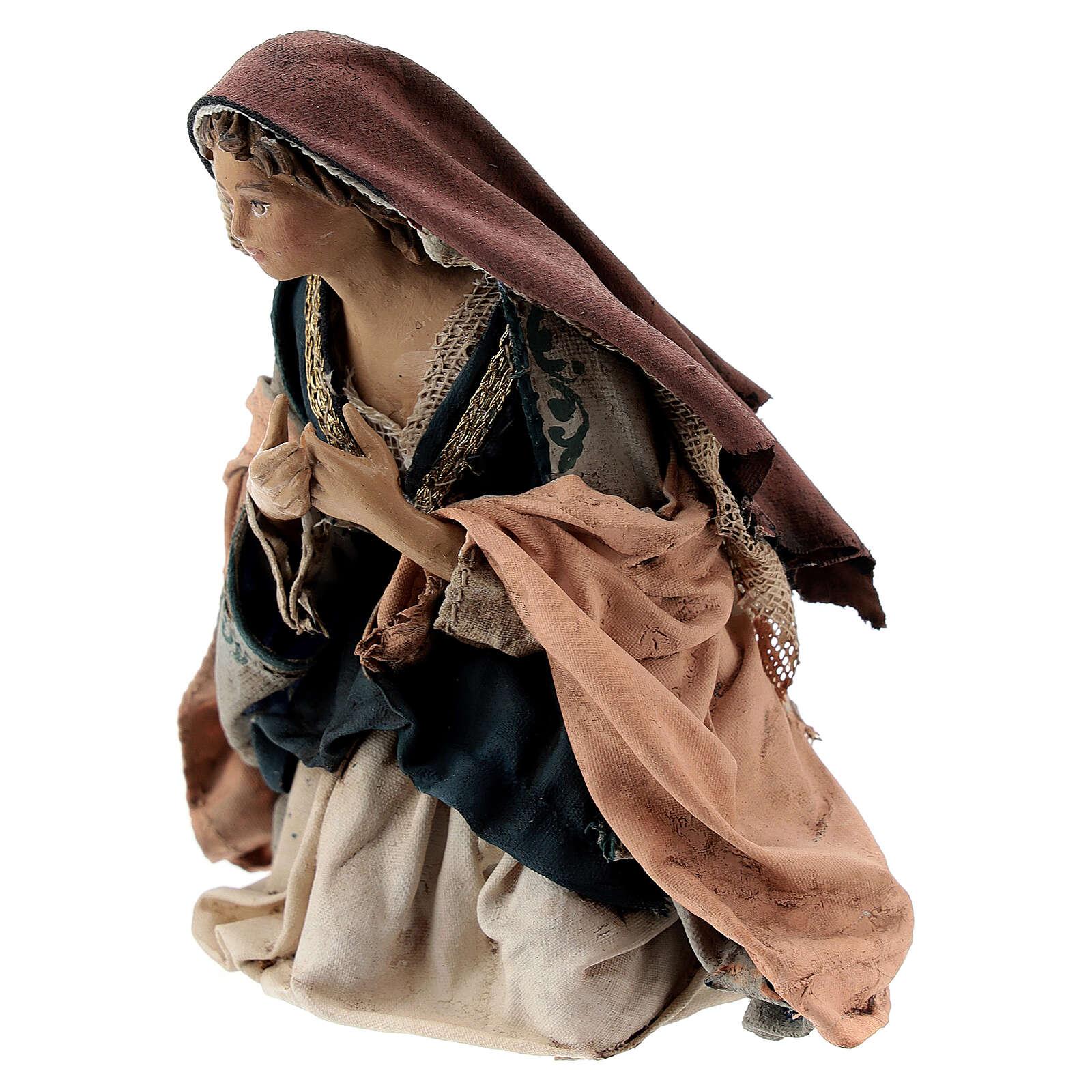 Nativité 13 cm crèche Angela Tripi 4