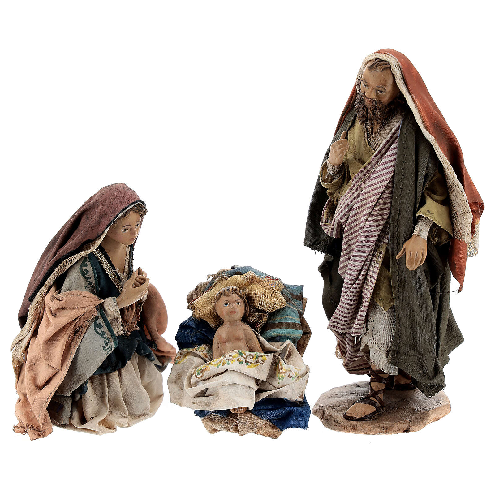 Holy Family figurines, Angela Tripi Nativity Scene 13cm 4