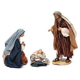 Holy Family figurines, Angela Tripi Nativity Scene 13cm s10
