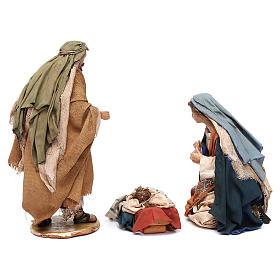 Holy Family figurines, Angela Tripi Nativity Scene 13cm s14