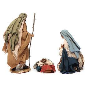 Holy Family figurines, Angela Tripi Nativity Scene 13cm s6