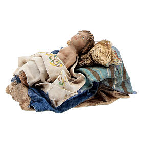 Holy Family figurines, Angela Tripi Nativity Scene 13cm s5