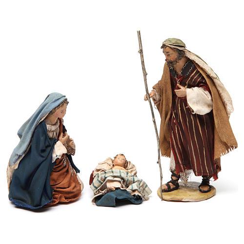 Holy Family figurines, Angela Tripi Nativity Scene 13cm 1