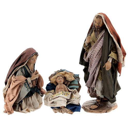 Holy Family figurines, Angela Tripi Nativity Scene 13cm 1