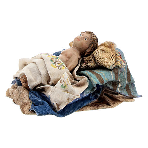 Holy Family figurines, Angela Tripi Nativity Scene 13cm 5