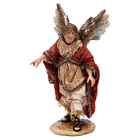 Annunciation to the Shepherds scene 13 cm Angela Tripi s3