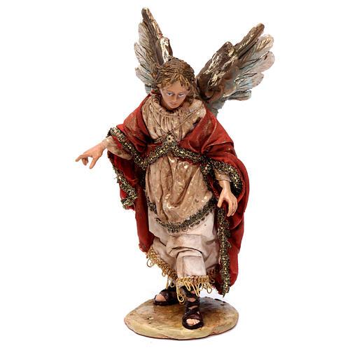 Annunciation to the Shepherds scene, 13 cm Angela Tripi figurines 3