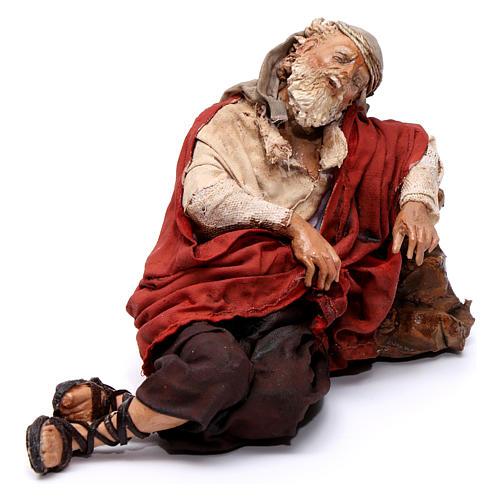 Annunciation to the Shepherds scene, 13 cm Angela Tripi figurines 6