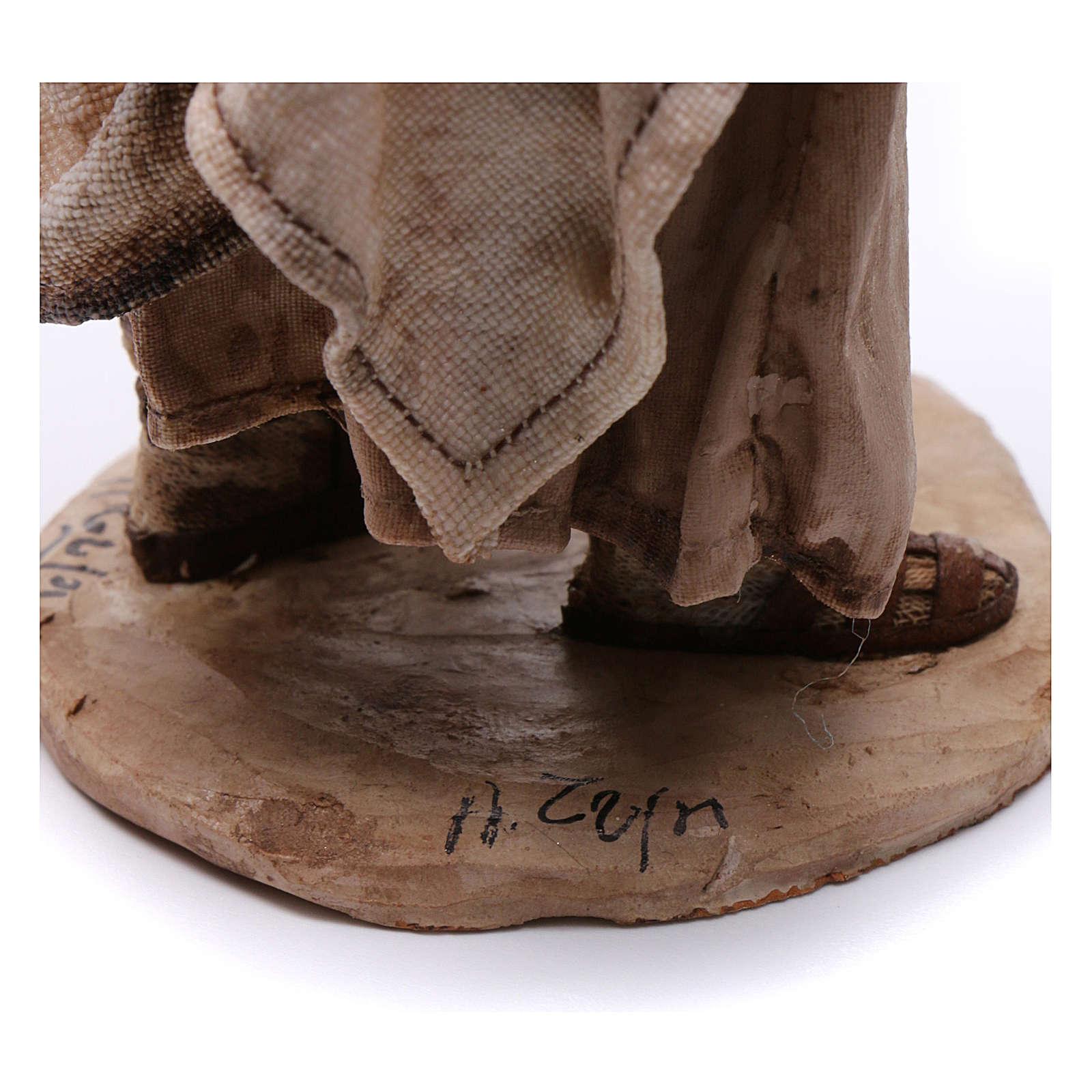 Natività 3 pz presepe Angela Tripi 18 cm 4