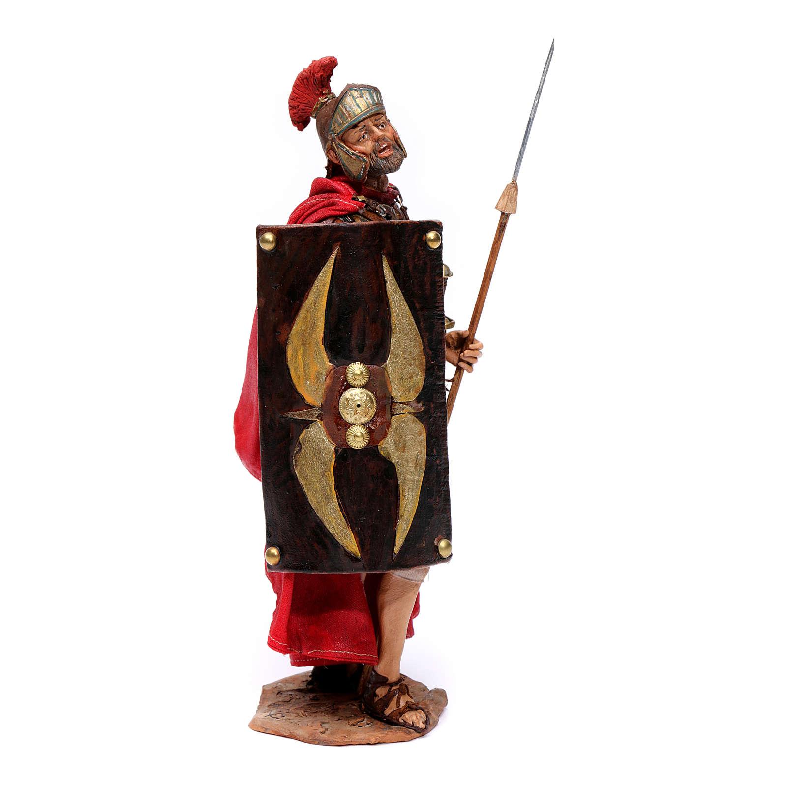 Soldato romano per presepe 18 cm Angela Tripi 4