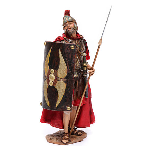 Soldato romano per presepe 18 cm Angela Tripi 1
