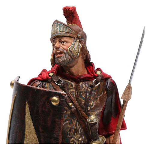 Soldato romano per presepe 18 cm Angela Tripi 2
