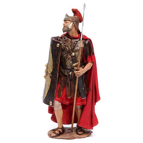 Soldato romano per presepe 18 cm Angela Tripi 3