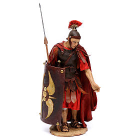 Soldato romano chinato 18 cm Angela Tripi s1