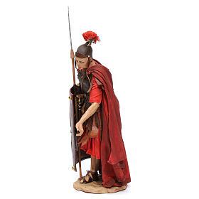 Soldato romano chinato 18 cm Angela Tripi s3