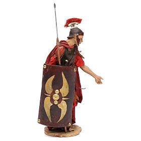 Soldato romano chinato 18 cm Angela Tripi s4