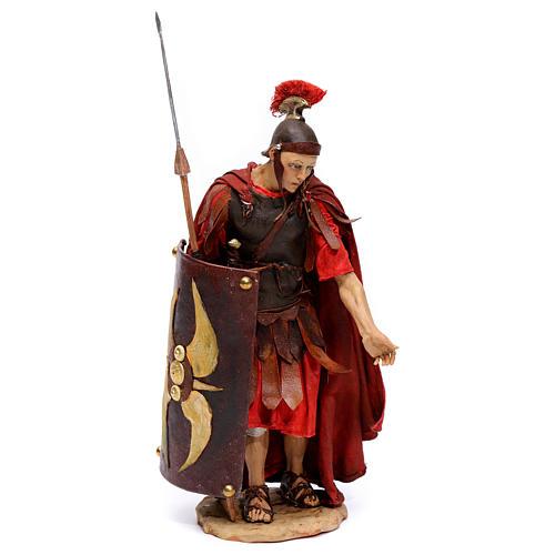 Soldato romano chinato 18 cm Angela Tripi 1