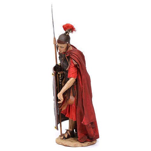 Soldato romano chinato 18 cm Angela Tripi 3