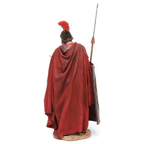 Soldato romano chinato 18 cm Angela Tripi 5