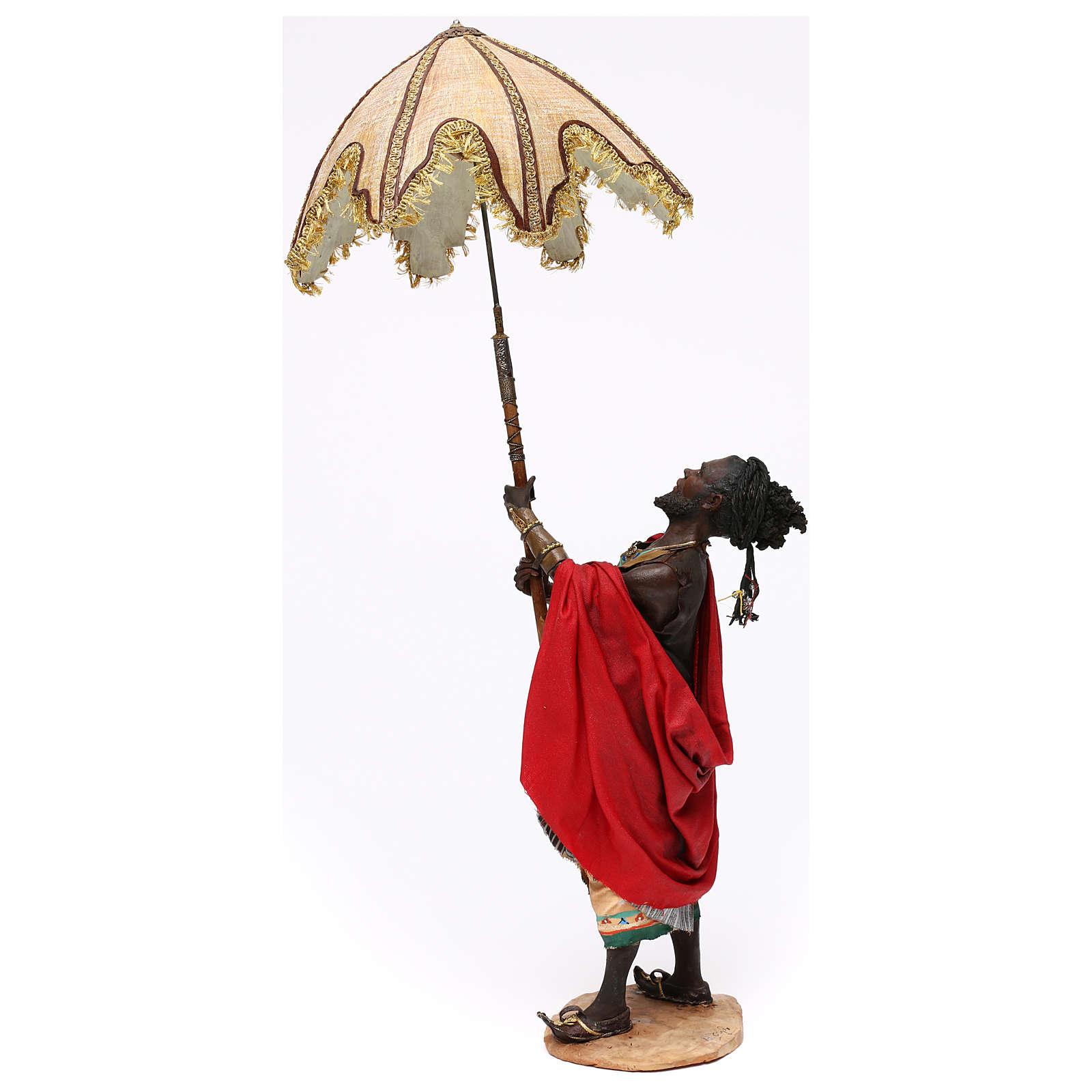 Serviteur avec parasol 30 cm Angela Tripi 4
