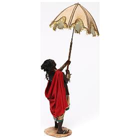Serviteur avec parasol 30 cm Angela Tripi s4