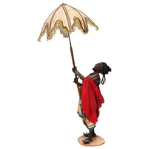 Serviteur avec parasol 30 cm Angela Tripi 1