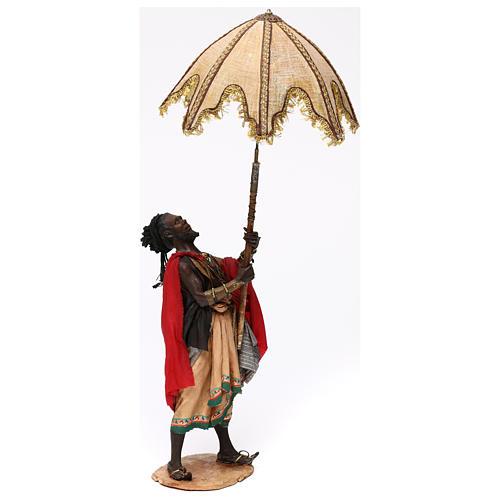 Serviteur avec parasol 30 cm Angela Tripi 3