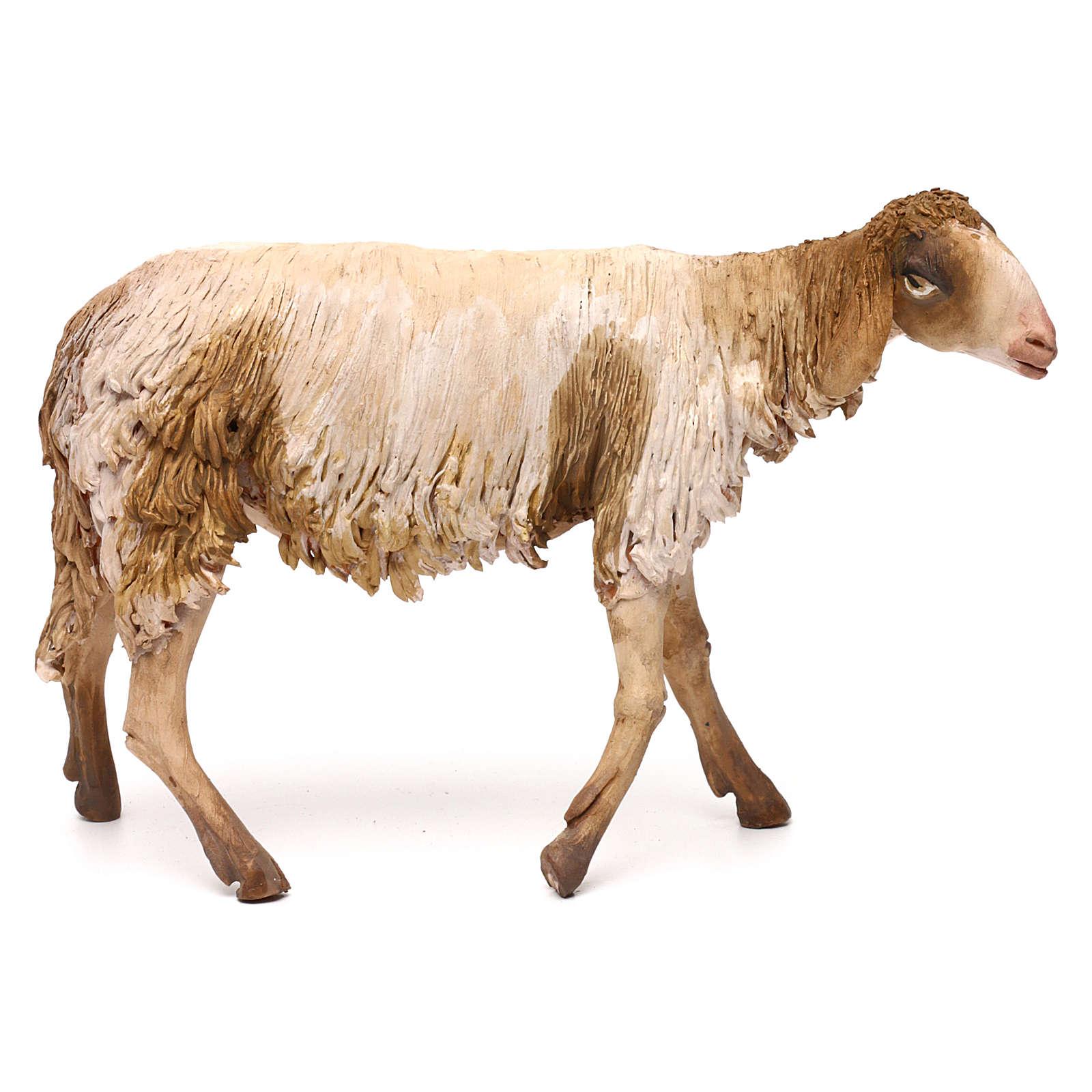 Mouton pour crèche Angela Tripi 30 cm 4