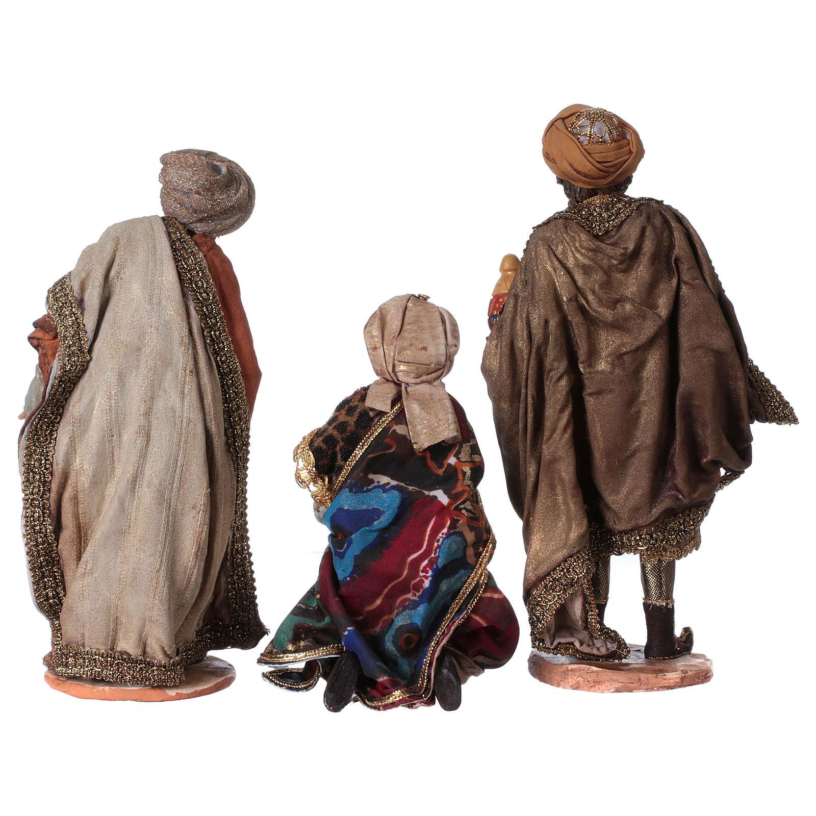 Gruppo Natività 18 cm 8 pezzi Angela Tripi 4