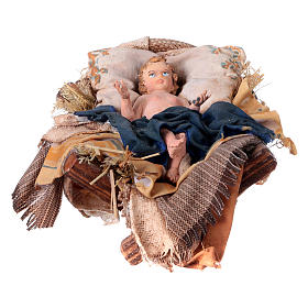 Gruppo Natività 18 cm 8 pezzi Angela Tripi s4