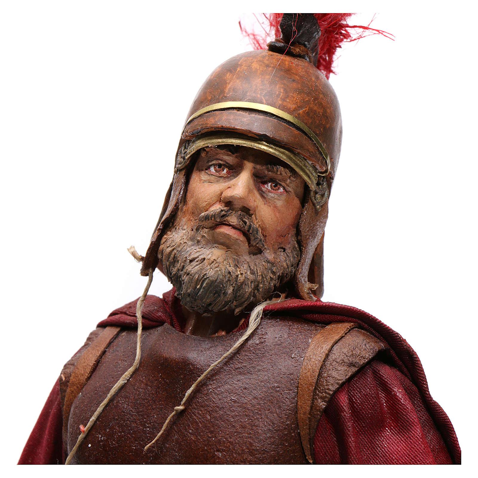Soldato romano con barba 30 cm Angela Tripi 4