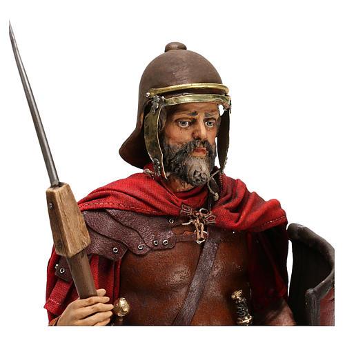 Soldato romano con barba 30 cm Angela Tripi 2