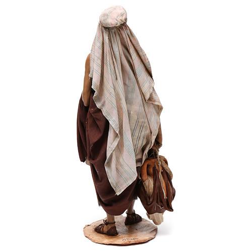 Pastore petto nudo presepe 30 cm Angela Tripi 5