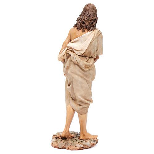 Bautismo de Jesús Escena Angela Tripi 30 cm 6