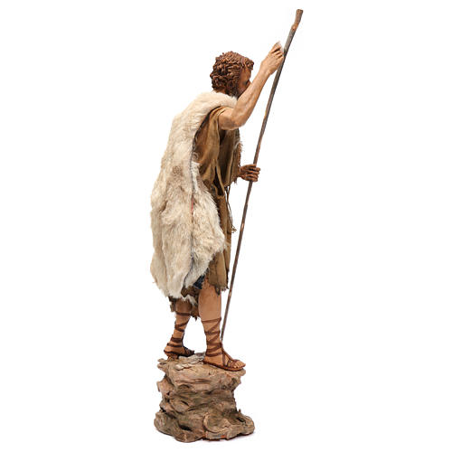 Bautismo de Jesús Escena Angela Tripi 30 cm 8