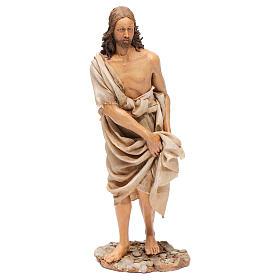 Battesimo di Gesù Scena Angela Tripi 30 cm s4