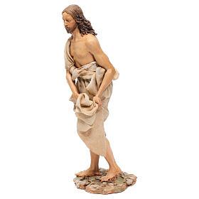 Battesimo di Gesù Scena Angela Tripi 30 cm s5