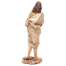 Battesimo di Gesù Scena Angela Tripi 30 cm s6
